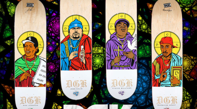 DGK DROPS BIGGIE, TUPAC, BIG PUN & EAZY E DECKS