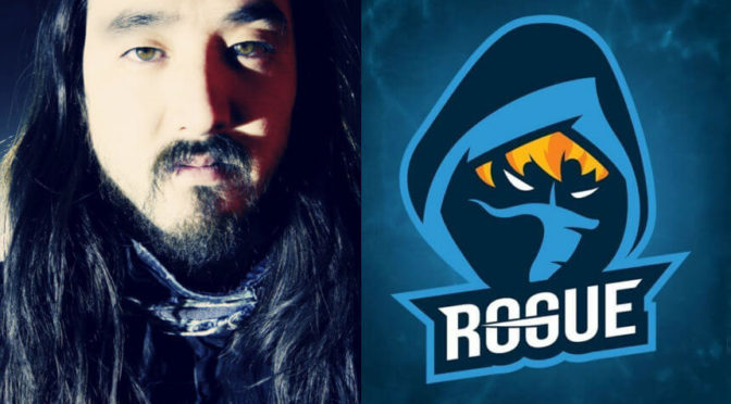 Steve Aoki snatches up Overwatch eSports team Rogue