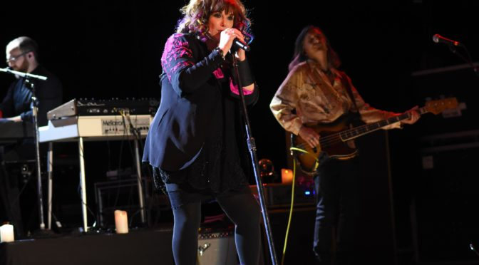 ANN WILSON OF HEART ROCKS THE MARYLAND HALL STAGE