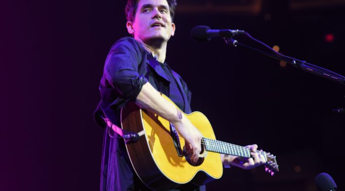 JOHN MAYER STOPPED THROUGH THE NATIONS CAPITAL